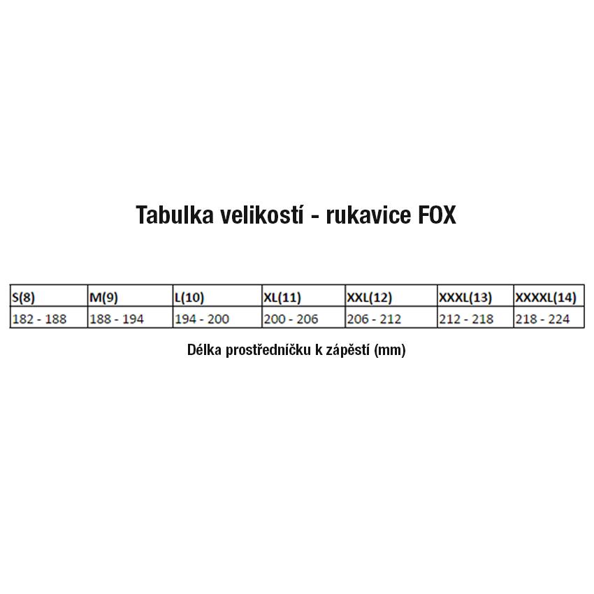 98a8a5ddfbf Rukavice - FOX Attack Water 2018 - černá