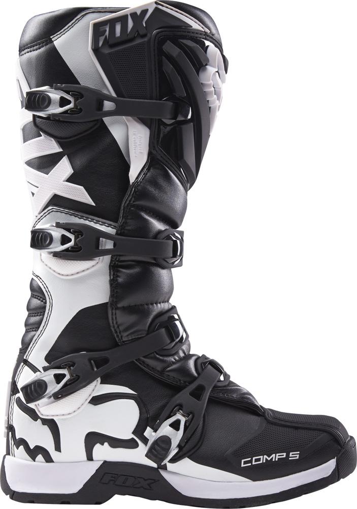 Dětské boty na motocross - FOX Comp 5Y Boot - černá 4d70900668