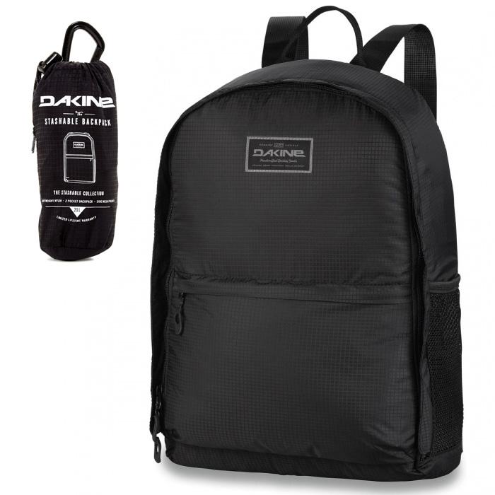 Batoh - DAKINE Stashable Backpack 2017 - černá (likvidace skladu) a38cf8e6d4