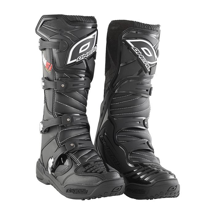 Boty na motocross - O´NEAL Element Platinum 2016 - černá fe4d8e96b7