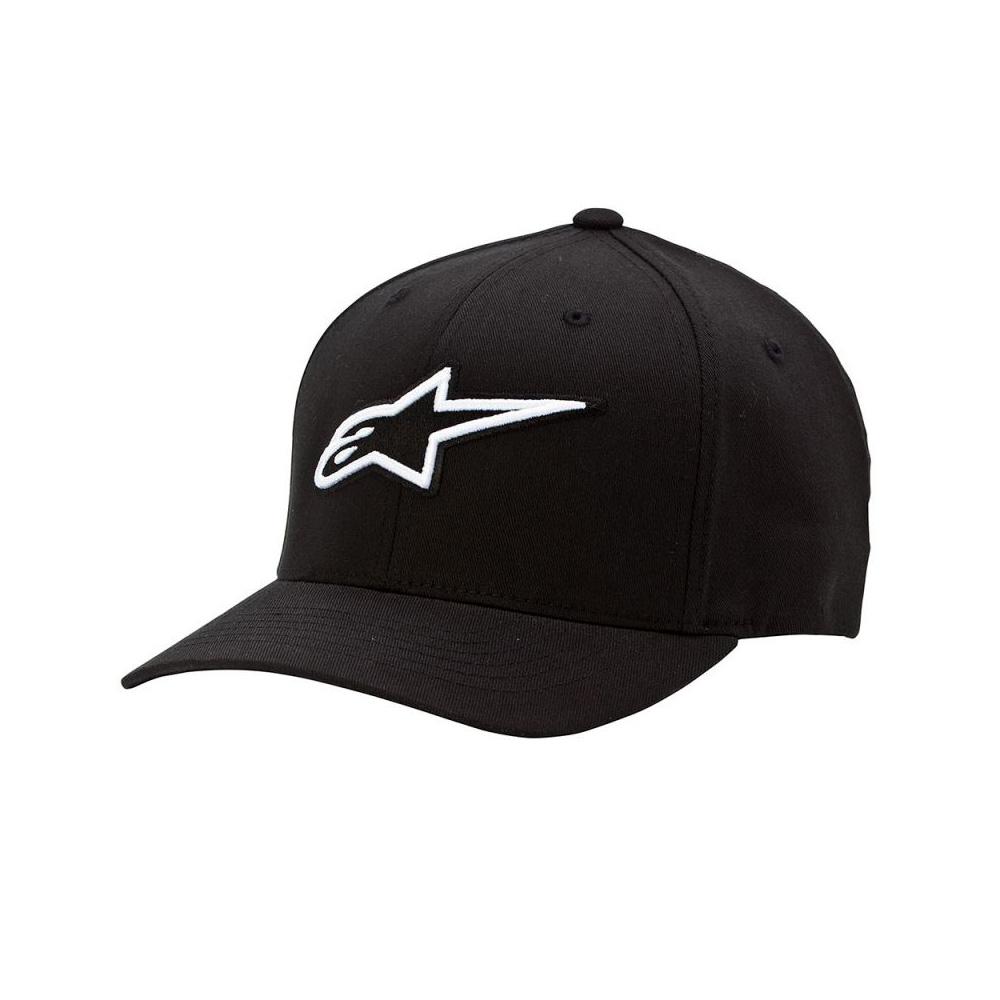 Čepice - ALPINESTARS Corporate Flexfit Hat 2018 - černá 27ab9cf5a2