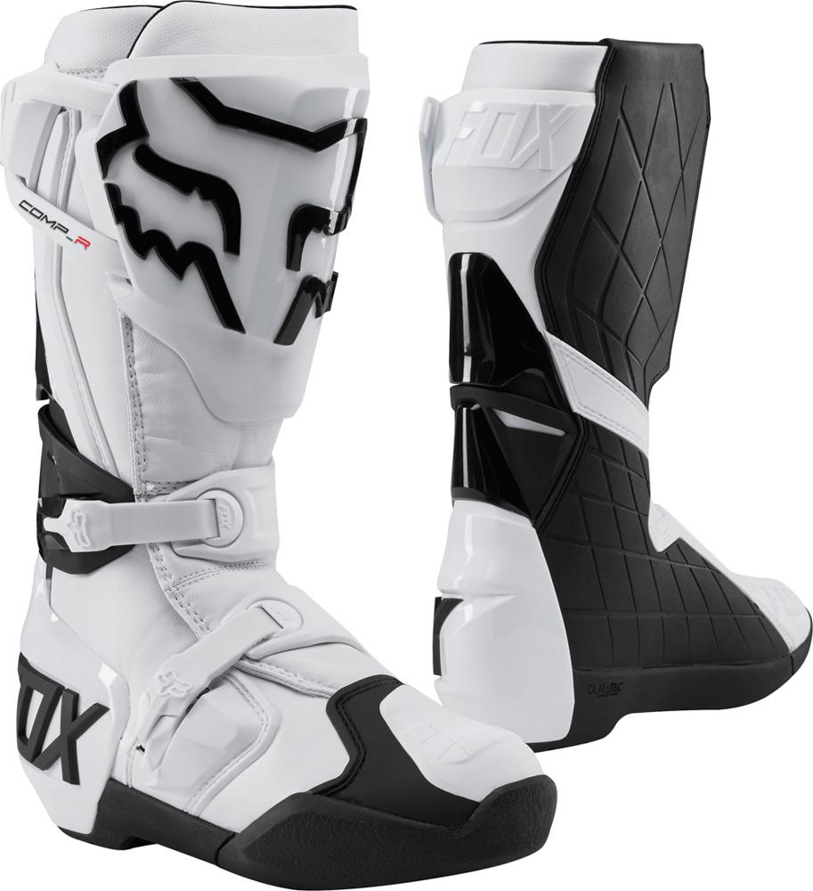 Boty na motocross - FOX Comp R Boot 2019 - bílá c56f55629f