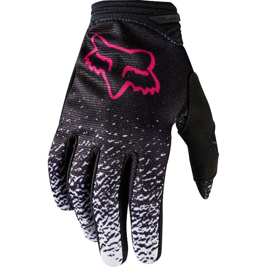 Dámské rukavice - FOX DirtPaw 2018 - černá růžová 782fbb006f