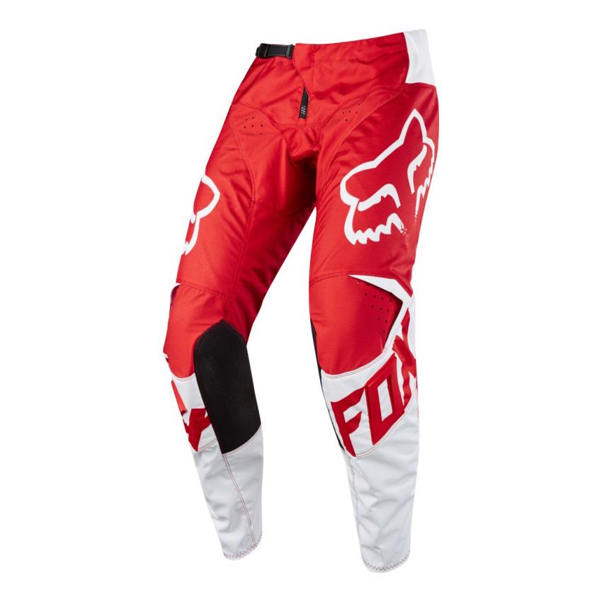 e86a9ad140b Kalhoty - FOX 180 Race 2018 - červená