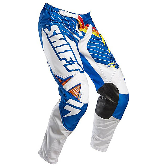 Kalhoty - SHIFT Strike Stripes 2015 - modrá f687cd20fa