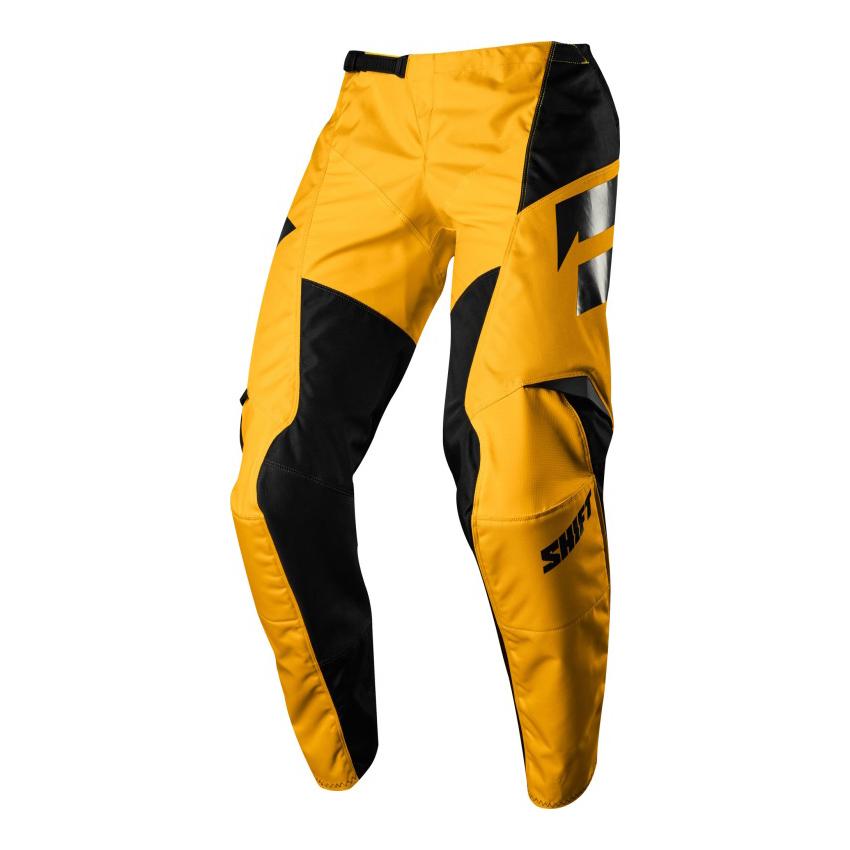 Kalhoty - SHIFT Whit3 Ninety Seven 2018 - žlutá a5a9951fd0