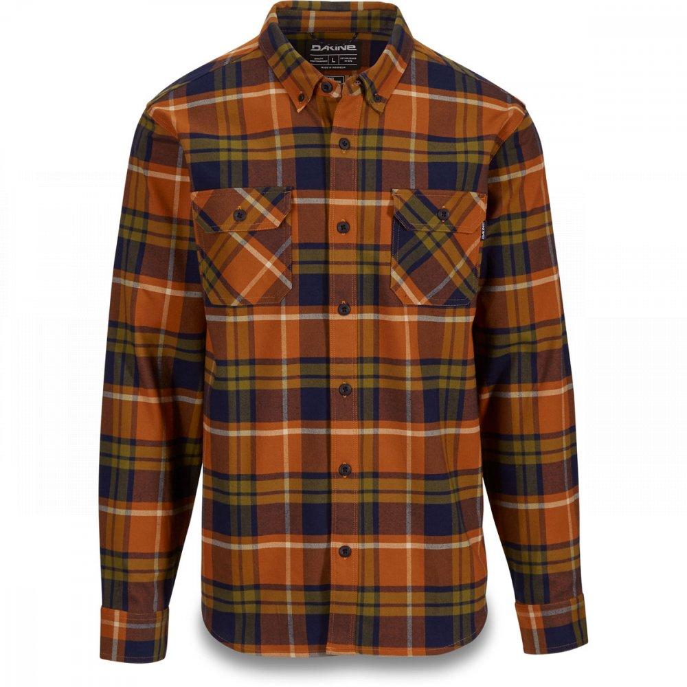 33163bf28a98c Košile - DAKINE Reid Tech Flannel 2019 - Leather Brown