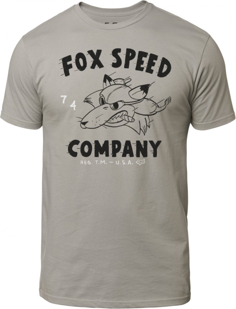 73e0905934 Triko - FOX Bomber Ss Premium Tee 2019 - šedá