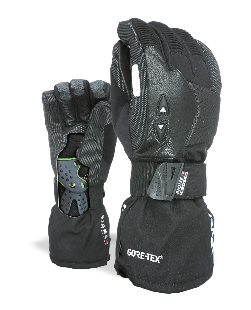3477310e164 Zimní rukavice - LEVEL Super Pipe Gore-Tex - černá