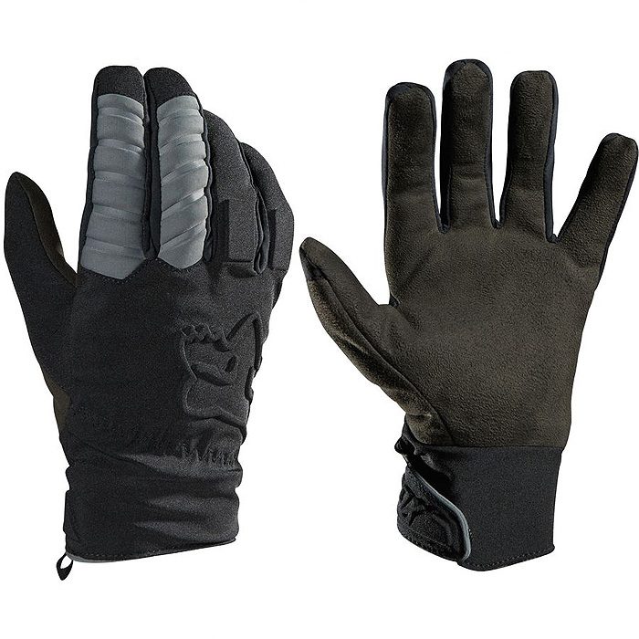 Zateplené rukavice - FOX Forge 2016 - černá 6513db16e1