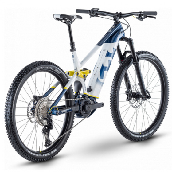 Elektro kolo - HUSQVARNA Hard Cross 5 2021 - Blue/White/Yellow