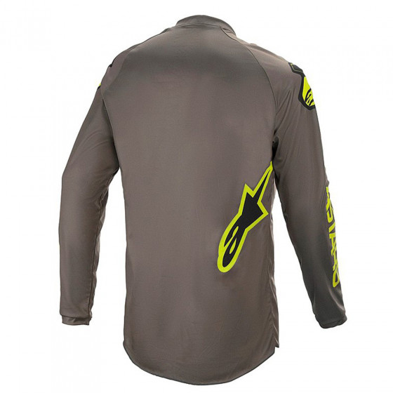 Dres - ALPINESTARS Fluid Speed 2021 - Dark Grey/Yellow