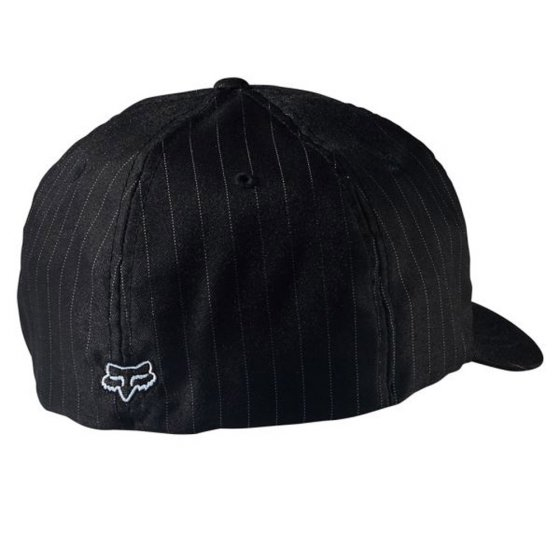 Čepice - FOX Legacy Flexfit Hat 2018 - Black Pinstripe