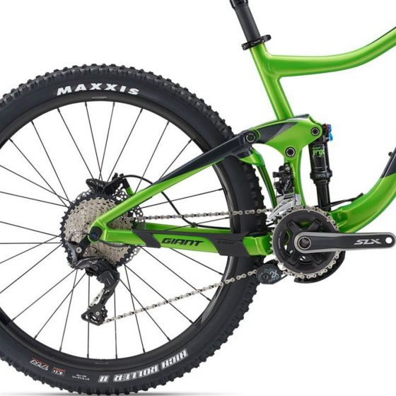 "Horské Trail / All-Mountain MTB kolo - GIANT Trance 27,5"" 2 GE 2019 - zelená"
