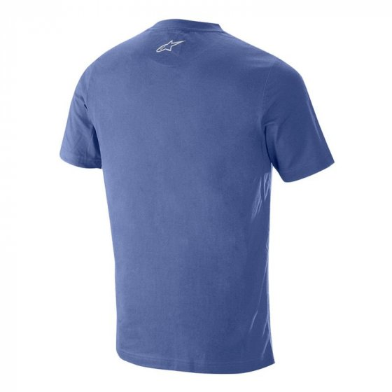 Triko - ALPINESTARS Ageless V2 Tech Tee 2019 - Mid Blue