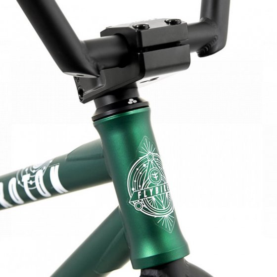 "Freestyle BMX kolo - FLY BIKES Proton CST 21"" LHD 2020 - Dark Green"