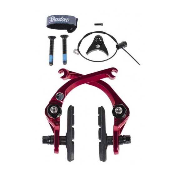 Brzda BMX - SHADOW Sano V2 Featherweight - Crimson Red
