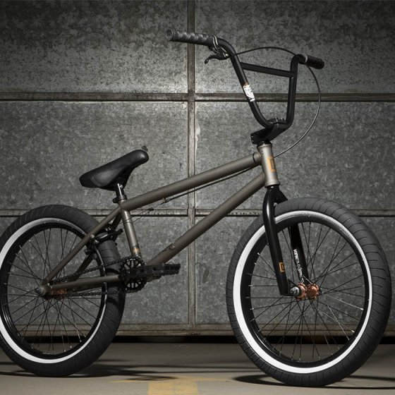 "Freestyle BMX kolo - KINK Whip 20,5"" 2017 - Matt Raw Cleat Coat"