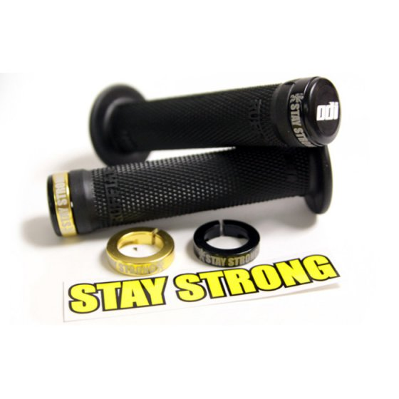 Gripy - ODI Stay Strong Lock - on BMX Grips