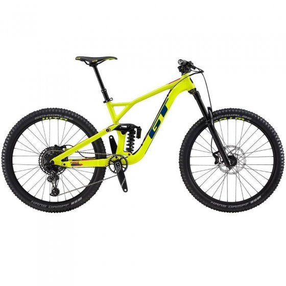 "Horské All-Mountain/Enduro kolo - GT Force 27,5"" Elite 2019 - Neon"