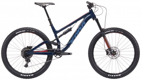 Horské Enduro / All-Mountain kolo - KONA Process 153 SE 27,5 2019 - modrá
