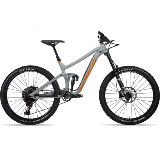 "Horské Enduro / All-Mountain kolo - NORCO Range A1 27,5"" 2019 - šedá"