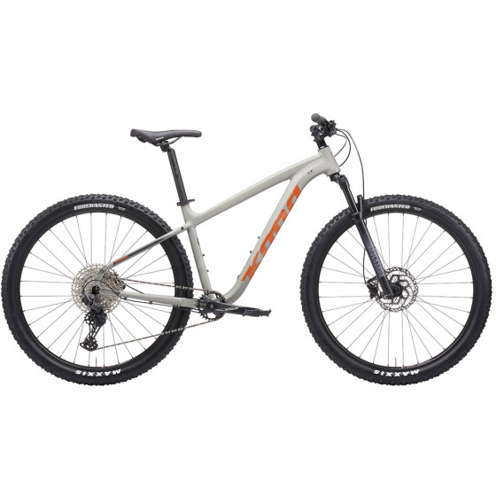"Horské MTB kolo - KONA Mahuna 29"" 2021 - Satin Oatmeal / Gloss Metallic Orange"