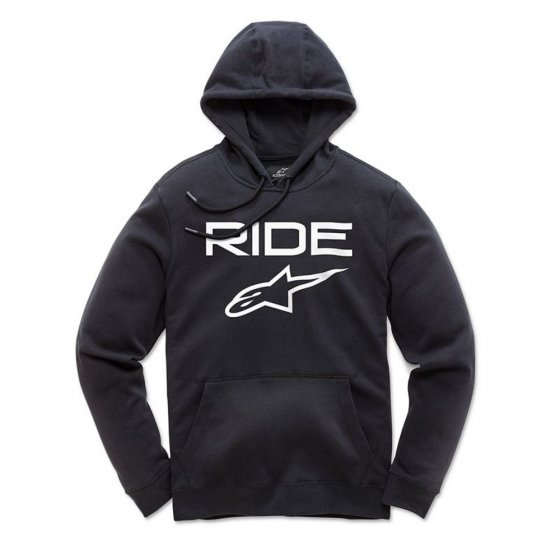 Mikina - ALPINESTARS Ride 2.0 Fleece - Black/White