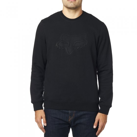 Mikina - FOX Refract DWR Pullover Crew 2019 - Black