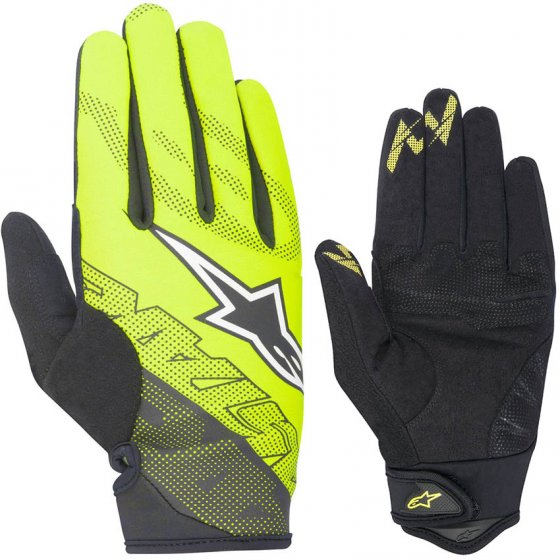 Rukavice - ALPINESTARS Stratus 2017 - Acid yellow/black