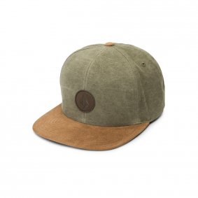 Čepice - VOLCOM Quarter Fabric - Army Green Combo