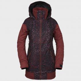 5d7750c4d Dámská zimní bunda - VOLCOM Meadow Ins Jacket - černá/hnědá