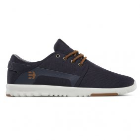 Boty - ETNIES Scout 2020 - Navy/Gold