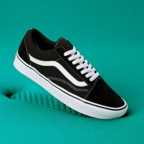 Boty - VANS Comftycush Old Skool - Black/White