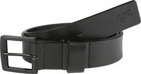 Pásek - FOX Briarcliff Leather Belt 2018 - černá 383ef088a0