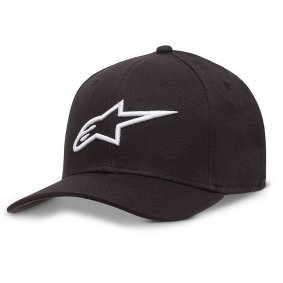 Čepice - ALPINESTARS Ageless Curve Hat - Black/White