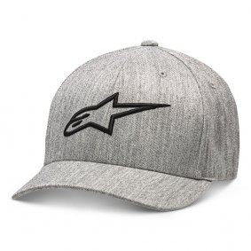 Čepice - ALPINESTARS Ageless Curve Hat - Grey Heather/Black