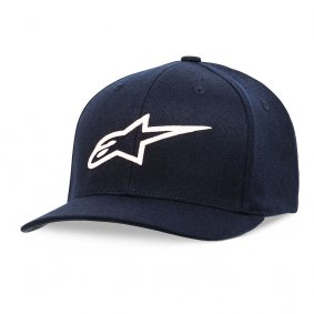 Čepice - ALPINESTARS Ageless Curve Hat - Navy/White