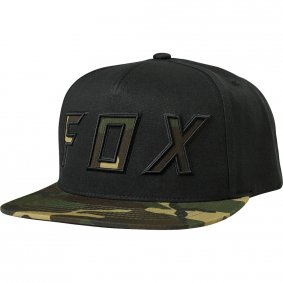 Čepice - FOX Posessed Snapback Hat 2018 - černá 9b073c6535