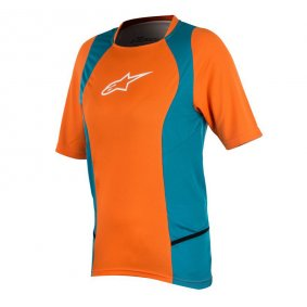 Dámský dres - ALPINESTARS Stella Drop 2 SS 2018 - Bright orange