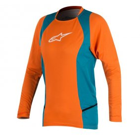 Dámský dres - ALPINESTARS Stella Drop LS 2 2018 - Bright Orange