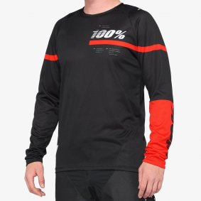 Dres - 100% R-Core 2020 - Black/Red