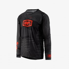 Dres - 100% R-Core-X DH LS Jersey- 2019