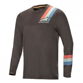 Dres - ALPINESTARS Alps 4.0 LS 2019 - Melange/dark Grey/Teal/Red