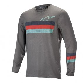 Dres - ALPINESTARS Alps 6.0 LS 2019 - Melange/Mid Gray/Red/Stillwater