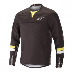 Dres - ALPINESTARS Drop Pro LS 2018 - Black/Acid Yellow