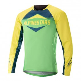 Dres - ALPINESTARS Mesa LS 2018 - Acid Yellow/Summer Green