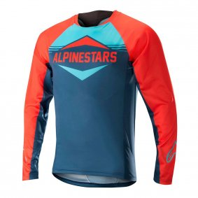 Dres - ALPINESTARS Mesa LS 2018 - Energy Orange/Poseidon Blue