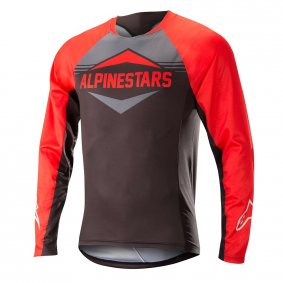 Dres - ALPINESTARS Mesa LS 2018 - Red/Steel Grey