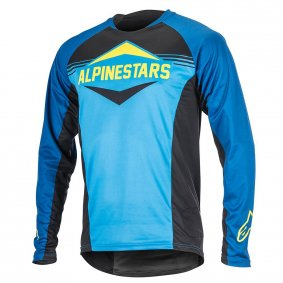 Dres - ALPINESTARS Mesa LS 2018 - Royal Blue/Bright Blue